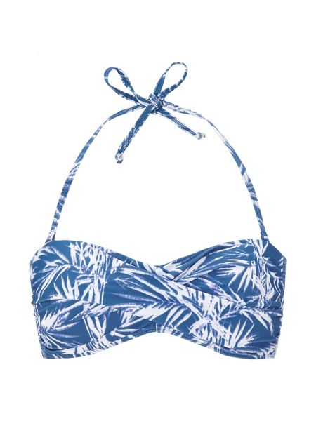Phase Eight Madagascar print bikini top