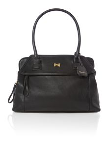 Elle black large tote bag