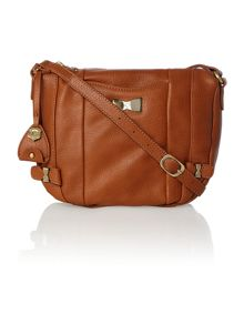 Cassie tan cross body bag