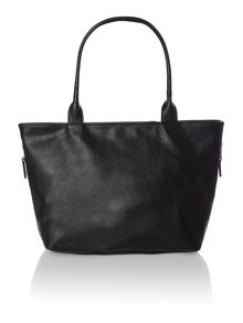 Venice black large cat tote