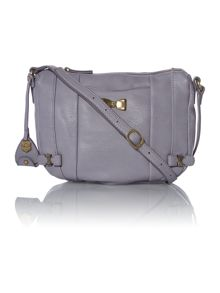 Cassie purple cross body bag