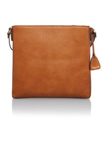 Jennifer tan cutout crossbody bag