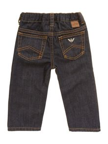 Boy`s classic dark wash denim jeans