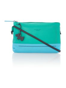 Finsbury park green small crossbody bag