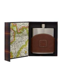 Lyle and Scott Hipflask in a box