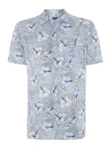 Gardener Floral Printed Short Sleeve Shirt