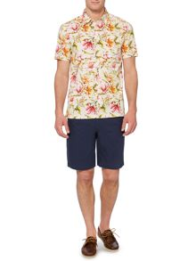 Altus Floral Printed Short Sleeve Shirt