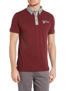 Weekend Offender Contrast Collar Polo