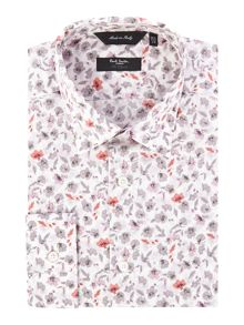 Paul Smith London Large Floral Slim Fit Shirt