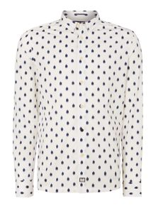 Weekend Offender Splash Print Longlseeve Shirt