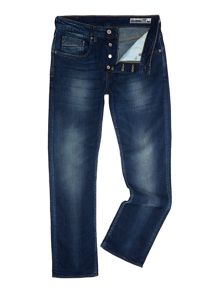 Duck and Cover Boxsir Medium Wash Mid Rise Jeans