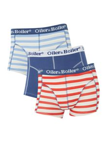 3 pack stripe and classic trunk