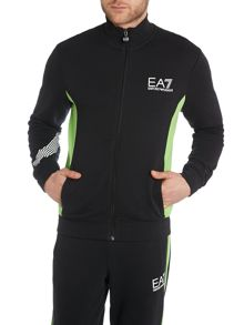 Ea7 Long Sleeve  Zip Through Sweatshirt