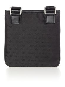 Nylon all over small cross body bag