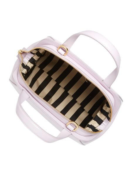 Lulu Guinness Paula light pink small cross body bag