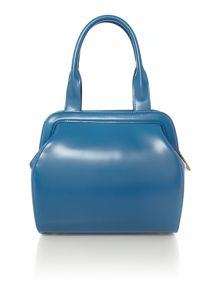 Paula blue large cross body bag