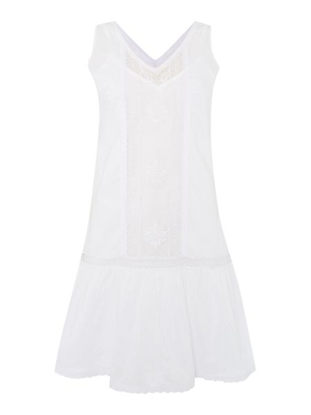 Therapy Embroidered lace dress