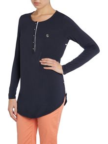 Long Sleeve button side detail top