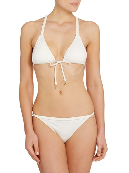 Tommy Hilfiger Braided halter bikini set