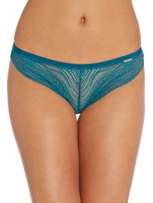 Infinate lace customized thong