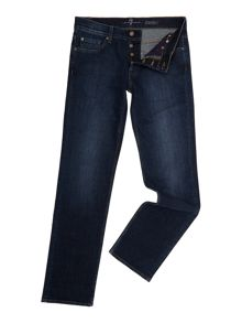 7 For All Mankind South night standard fit dark jeans