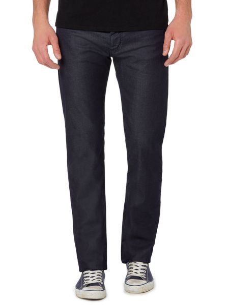 Armani Jeans J21 Regular Fit Mid Rise Jean