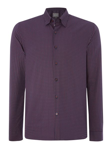 Peter Werth Downtown burting grid check shirt