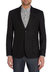 Adams shawl collar blazer
