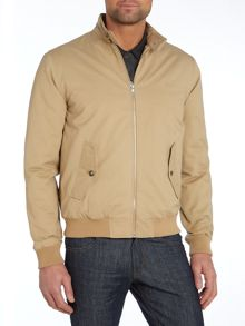 Peter Werth Marshal padded cotton harrington jacket
