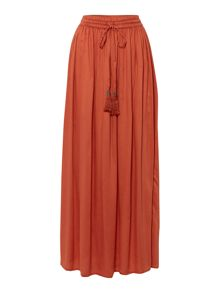 Midnight Tassel Maxi Skirt