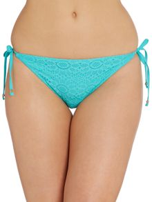 Summer Days tie-side bikini brief