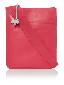 Pocketbag pink medium crossbody