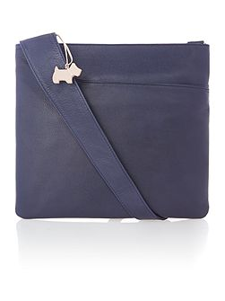 Pocket bog navy large crossbody bag