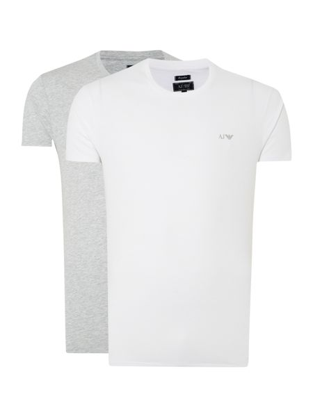 Armani t Shirt Pack Crew Neck t Shirt 2 Pack