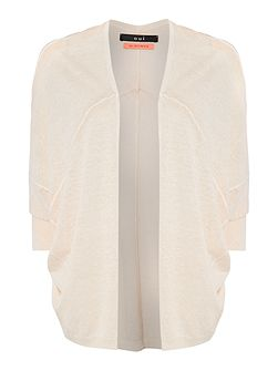 Oui Long sleeve waterfall cardigan