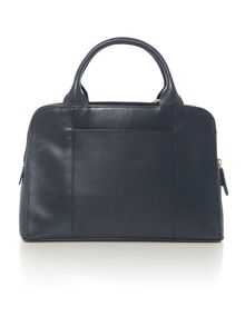 Millbank navy medium tote bag