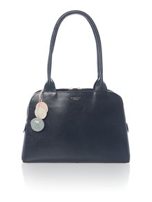 Millbank grey medium tote bag