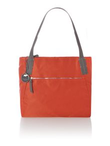 Harrington orange medium tote bag