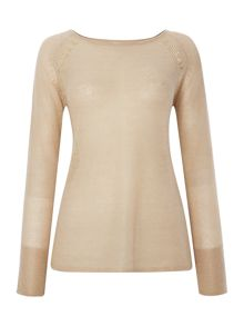 Hoss Intropia Longsleeve shoulder detail jumper