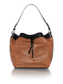 Marella Tan large duffle bag