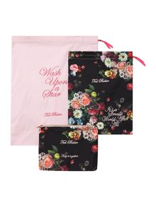 Oil blossom multi-coloured travel laundry bags