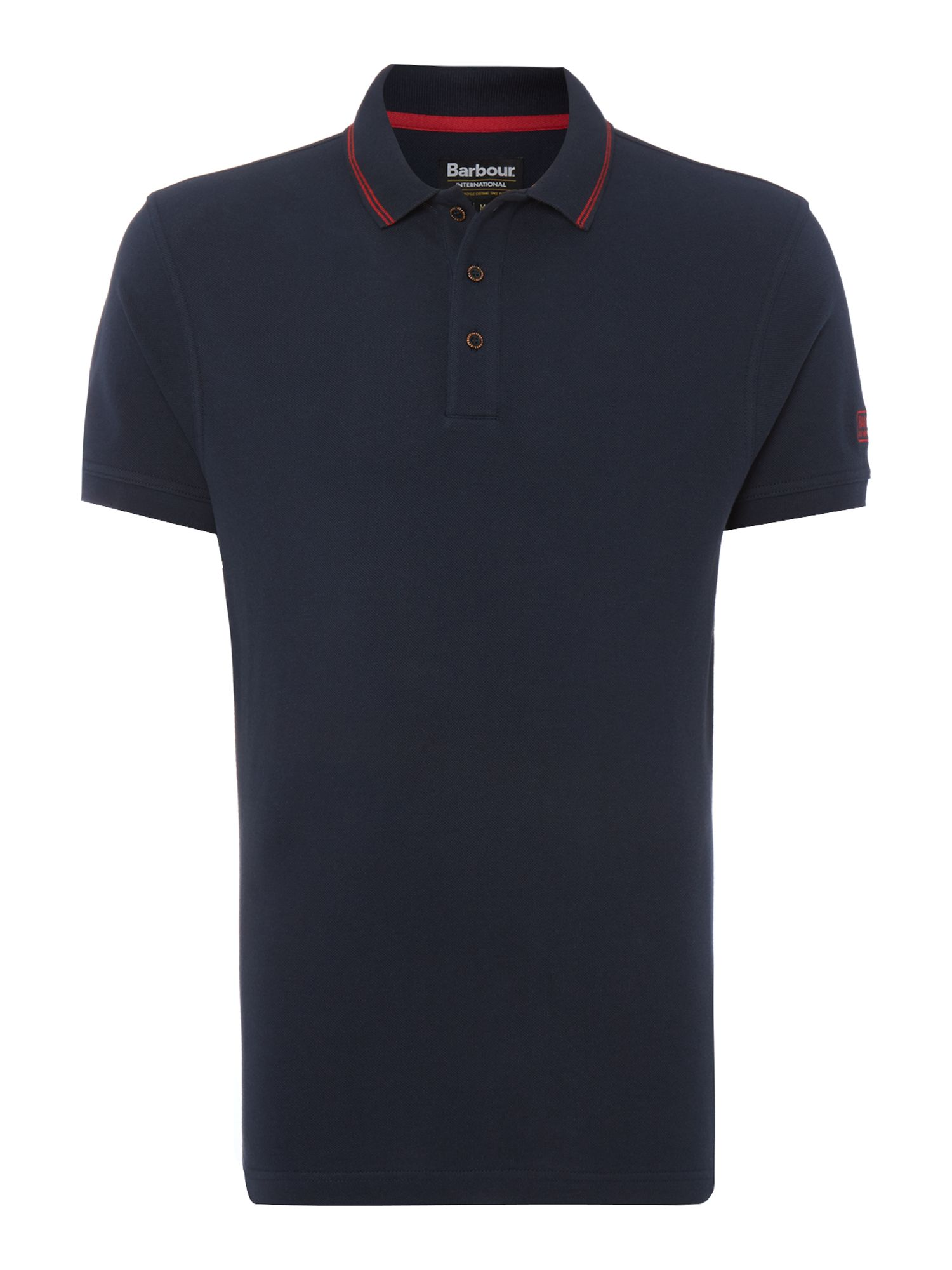 Men's Barbour International Polo Shirt, Blue
