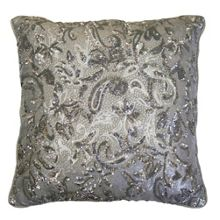 Kylie Minogue ALEXA SILVER DIRECT CO-ORDINATE CUSHION