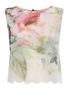 Ted Baker Peony scalpp cover up top
