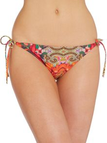 Ted Baker Paisley Toucan Densy tie-side bikini brief