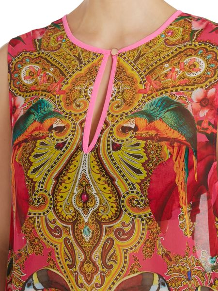 Ted Baker Paisley Toucan Dokkky Cover up