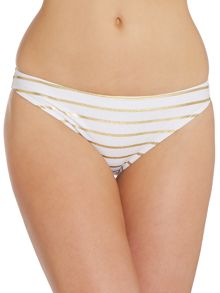 Gold Stripe Febey Bikini Brief