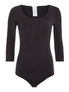 Wolford Pure string 3/4 sleeve body