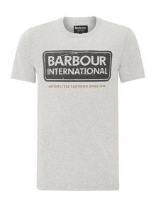Barbour International logo t-shirt