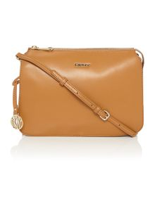 Greenwich tan cross body